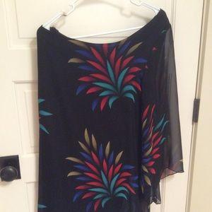 One Shoulder Mini Dress Size L